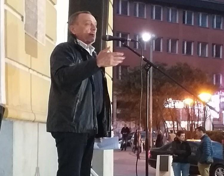 Živković u Užicu: Moramo stati na put propadanju Srbije pod Vučićevim režimom
