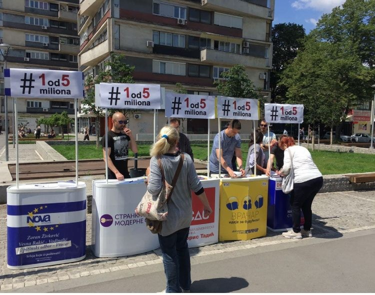 Vračarci digli glas protiv vlasti koja je građanima ukrala opštinu