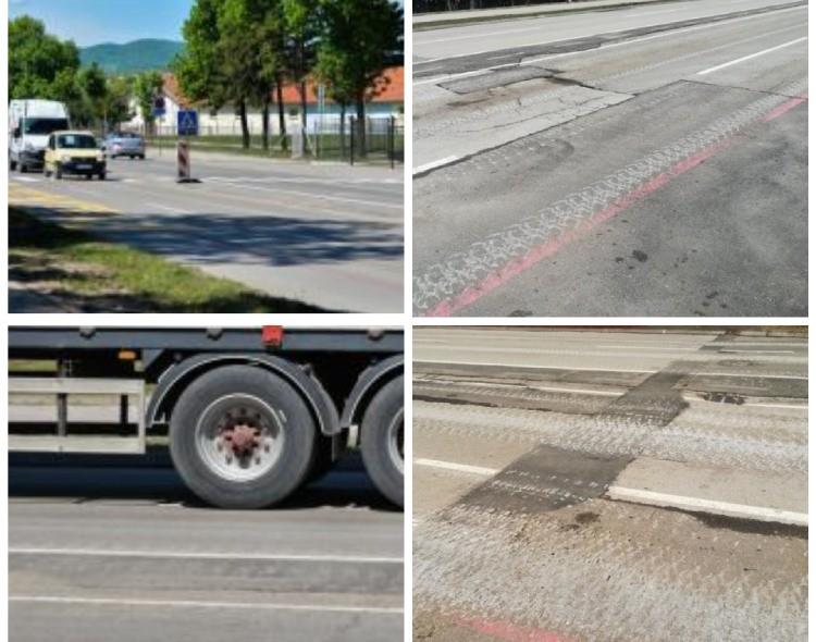 Devastiran Bulevar Nikole Tesle u Nišu nakon Vučićevog vojnog paradiranja
