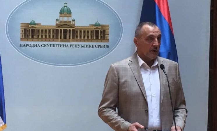 Živković u Parlamentu o Srbijagasu, ubistvu Olivera Ivanovića, aerodromu u Lađevcima...