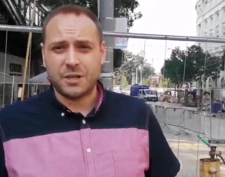 Mladenović: Sve što se dešava u Beogradu je uzrok prljavih misli Aleksandra Vučića