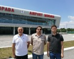 """Došli, videli, ne poleteli: Funkcioneri Nove stranke obišli aerodrom """"Morava"""" u Kraljevu"""