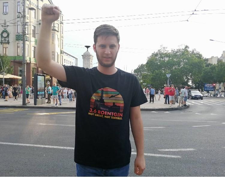 Eleković na protestu u Beogradu: Srbija je okupirana 7 godina, naše je da je oslobodimo!