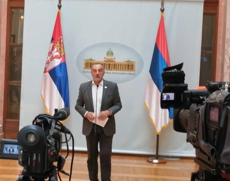 Živković: Srbija mora dobiti odgovor na pitanje zašto se Vučić toliko plaši Haradinajeve ostavke