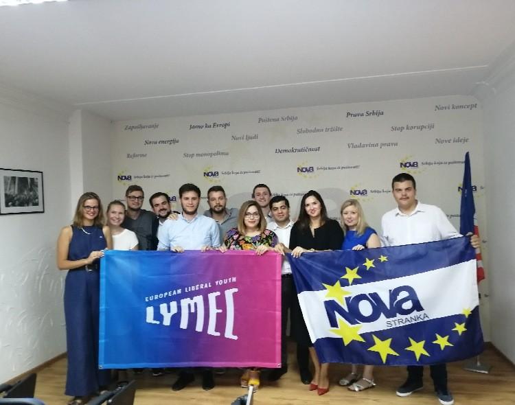 Forum mladih Nove stranke domaćin sastanka rukovodstva Evropske liberalne omladine