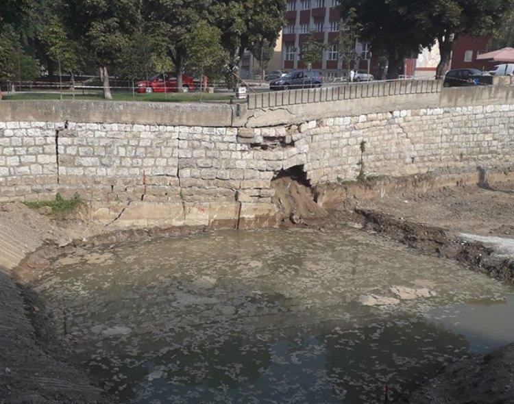NOVA Knjaževac zahteva hitnu sanaciju urušenog dela kejskog zida na Svrljiškom Timoku