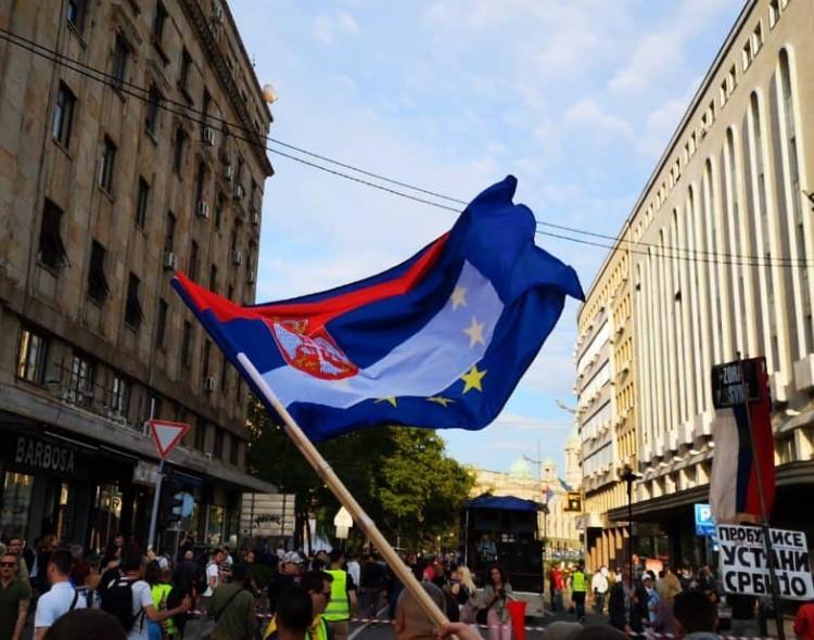 NOVA zahteva od Maje Gojković da odmah pozove EP da posreduje u dijalogu vlasti i opozicije