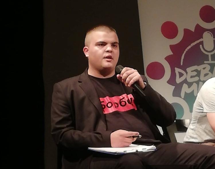 Marko Živković na debati KOMS: Nastavlja se BORBA za slobodnu i demokratsku Srbiju