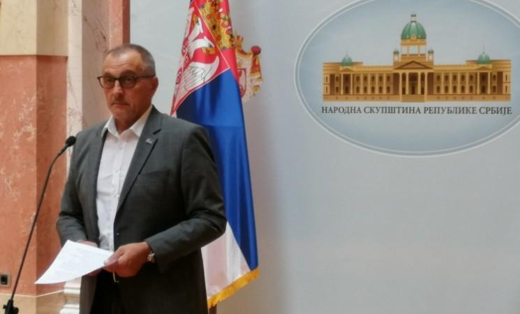 Živković: Obećavam građanima da će prva odluka nove, demokratske Vlade biti hapšenje Vučića
