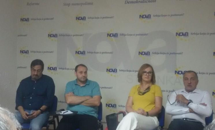Saopštenje povodom sednice Gradskog odbora Nove stranke Beograd
