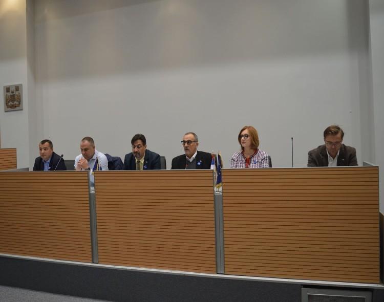 XIV Konferencija Nove stranke Delegati iz cele Srbije složni: Zajedno u borbu za izborne uslove!