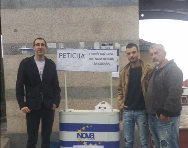 NOVA Surdulica pokrenula peticiju da ulica ponese ime Ljubiše Božilova, poginulog na Košarama