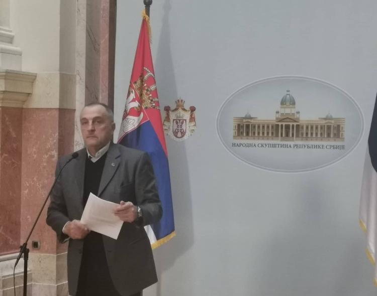 Živković u Parlamentu: Naterali smo tužilaštvo da započne istragu poslovanja Krušika