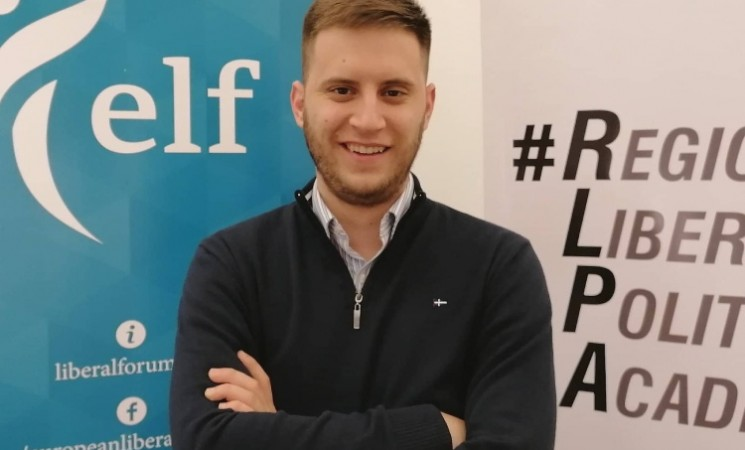 Eleković na samitu omladine liberala regiona u Briselu