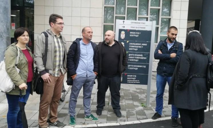 Podrška stanarima Stepe Stepanovića: Crkva ih izvela na sud, a oni samo traže da se poštuje zakon