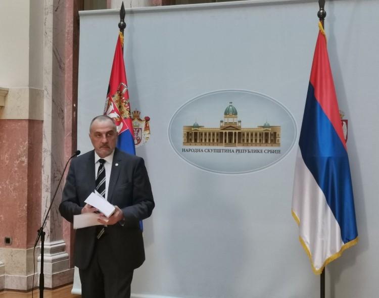 Živković u Parlamentu: Budžet je ponovo jedna velika prevara