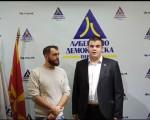Živković u Skoplju sa vrhom LDP Makedonija o jačanju dalje saradnje