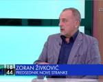 Živković: Za Novu stranku je najvažnija koalicija ona sa građanima Srbije