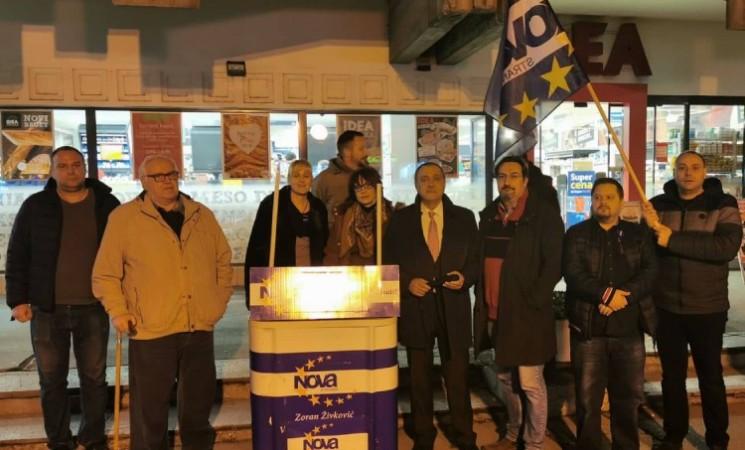 Živković na godišnjicu od početka protesta u Jagodini: Režim ćemo pobediti samo BORBOM!
