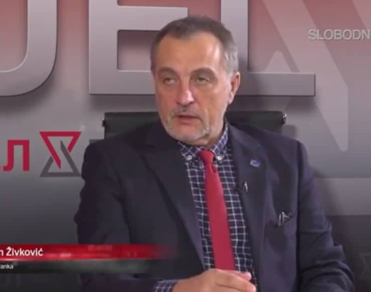 Živković za Slobodnu TV: Samo se borbom pobeđuje kriminalna, korumpirana i bolesna vlast