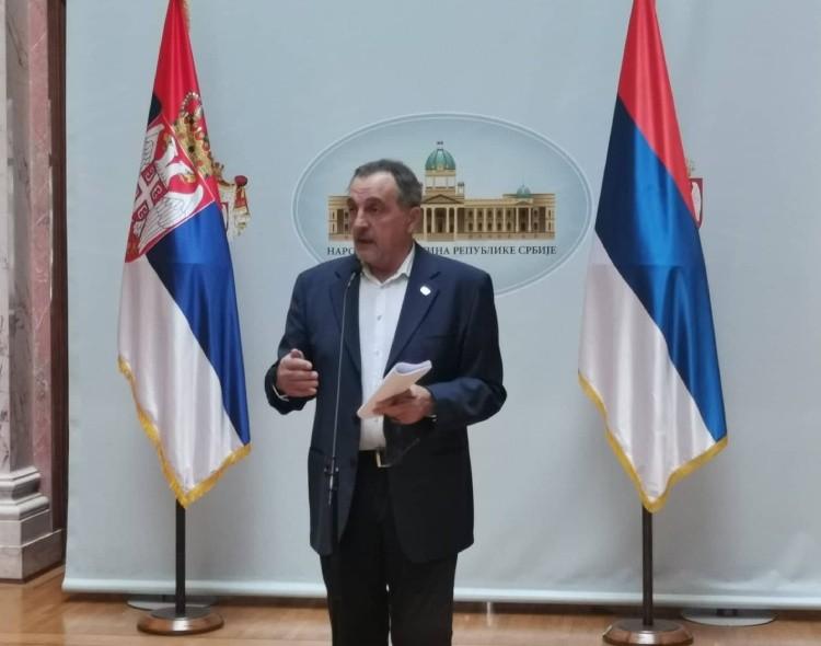 Živković na konferenciji u Skupštini: Pravosuđe u Srbiji smrdi od vrha, zato je borba neophodna