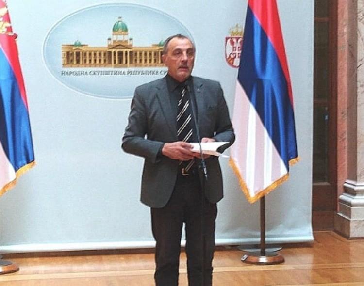 Živković u Skupštini: Režim će morati da odgovara za sav kriminal tokom vanrednog stanja