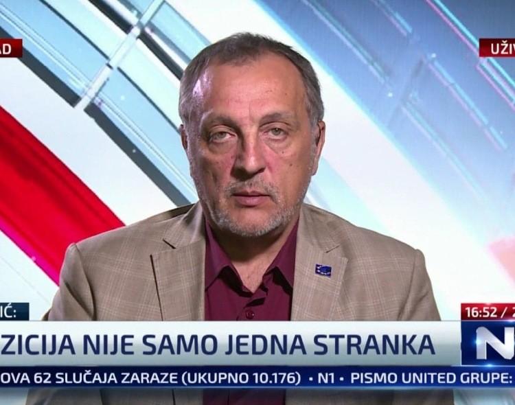 Živković za N1: Izborni uslovi se ne rešavaju bojkotom, već borbom za Srbiju