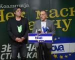 """Nova stranka i Zelena stranka zajedno na izbore: Predstavljena koalicija """"Nek maske padnu"""""""