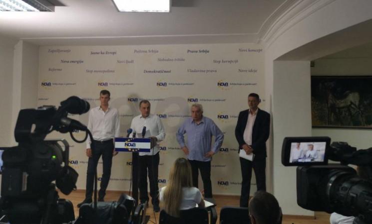 Nova stranka predstavila svoje odbornike u skupštinama beogradskih opština