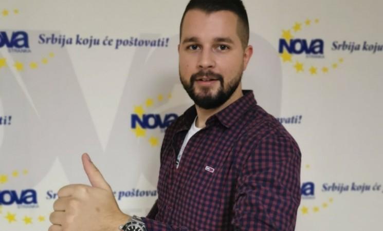 Forum mladih Nove stranke izabrao novog predsednika - Aleksandra Milivojevića
