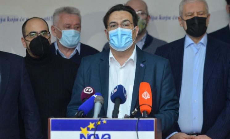 Opozicija predstavila Predlog platforme za pregovore o uslovima za slobodne i poštene izbore