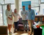 Predstavnici Nove stranke na sastanku sa Udruženjem studenata sa hendikepom